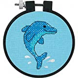 Dimensions Needlecrafts Stamped Cross Stitch, Dolphin Delight