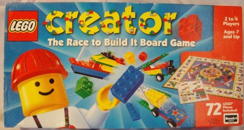 LEGO Creator: The Race to Build It Board Game (Lego Creator Board Game)