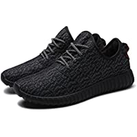 nepretty Womens Knit Zapatillas Mujer Gamuza de Casual ligero Athletic Zapatillas Transpirable en la parte superior Gimnasio – Zapatos de Senderismo...
