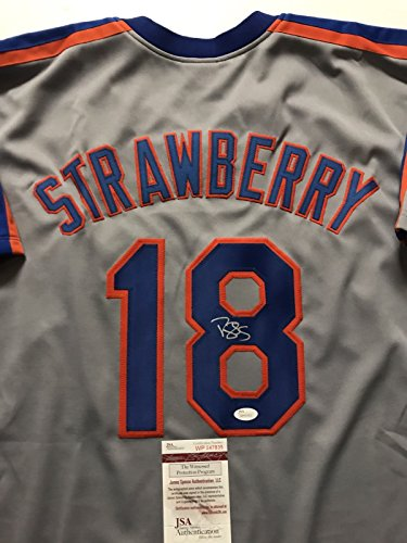 Signed New York Mets Jersey - 4
