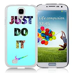 Fantastic Customized Nike Samsung Galaxy S4 I9500 Case Just do it Series 91 White