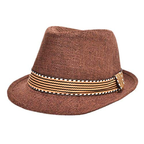 Classic Style Fashion Jazz Kids Baby Boy Girl Cap Cool Photography Fedora Hat for Children,Type19 ()