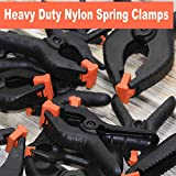 Wellmax 16 Piece Heavy Duty Nylon Spring Clamps