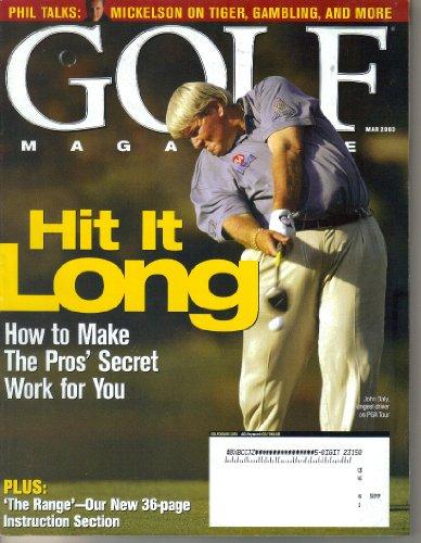 John Daly Golf Swing - Golf Magazine, Vol. 45, No. 3 (March, 2003)