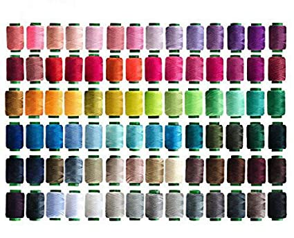 84 Colors Sewing Thread Assortment Coil 250 Yards Each, Sewing Kit All Purpose Polyester Thread for Hand (Mix) KOVANO 4337017257