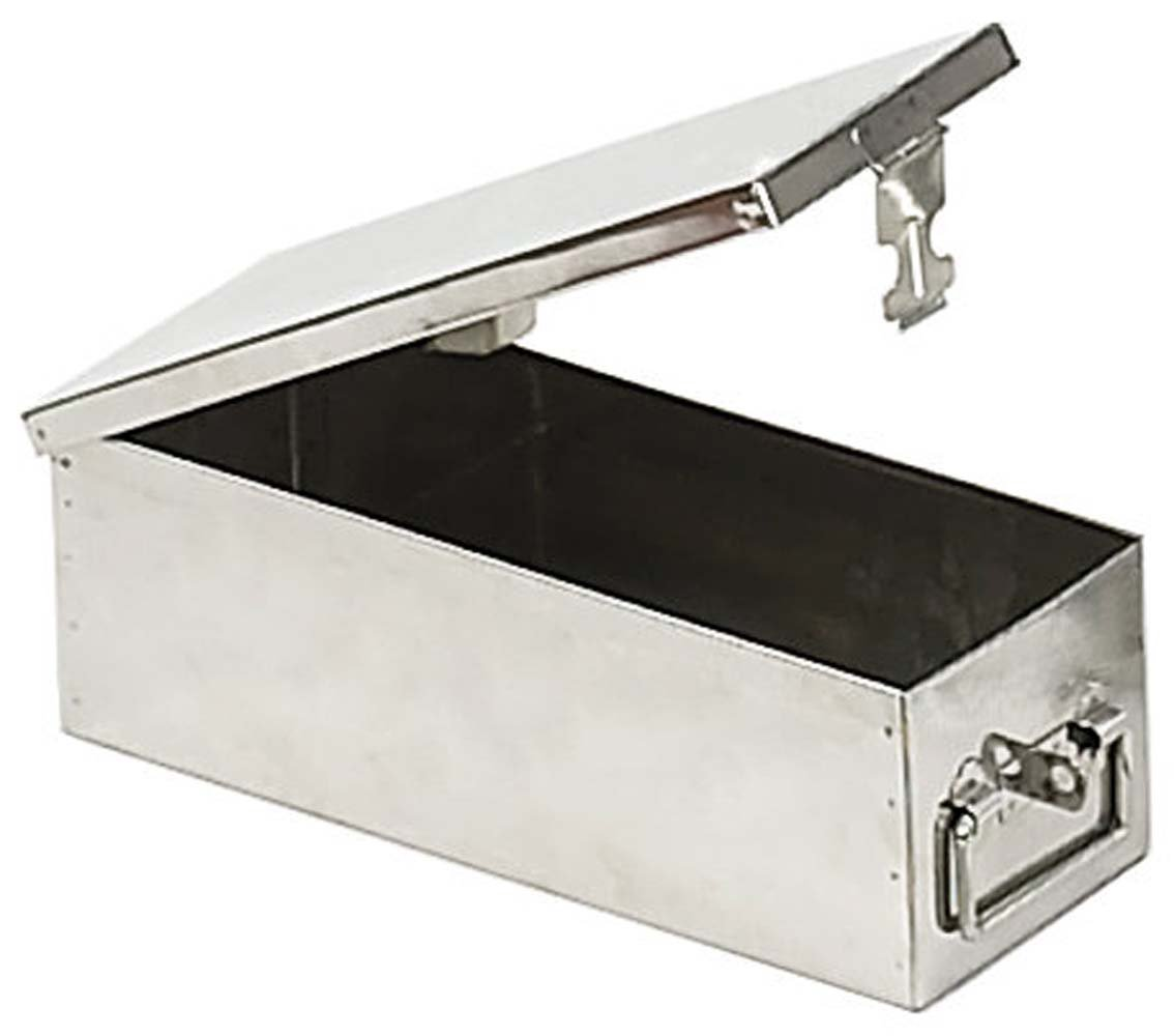 Stainless Steel ''safe Deposit'' Style Box by ToolUSA