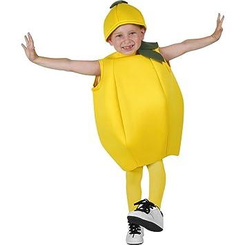 Amazon.com: Child's Lemon Halloween Costume (Size: Large 10-12 ...