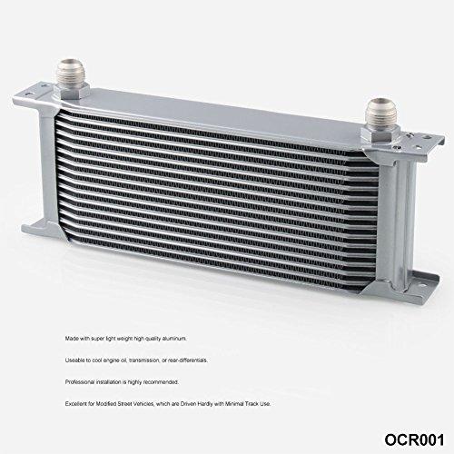 Enfriador, Radiador de Aceite de motor de transmisión automática para Motor Universal-16Filas AN-10AN