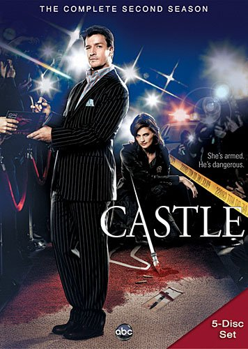 DVD : Castle: The Complete Second Season (, Dolby, AC-3, Widescreen, 5 Disc)