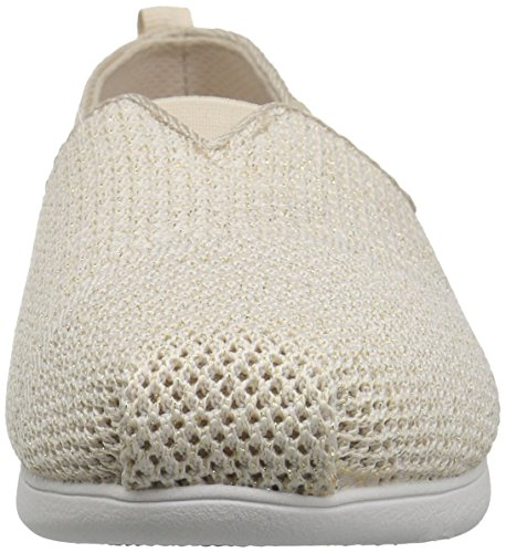 Bobs by Skechers Plush Lite Flash Lite Mujer US 6.5 Crema Alpargata