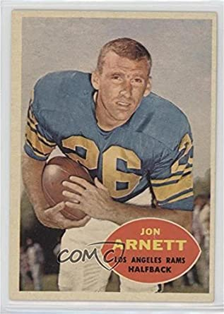 c6910b8da12 Amazon.com  Jon Arnett (Football Card) 1960 Topps -  Base   64   Collectibles   Fine Art