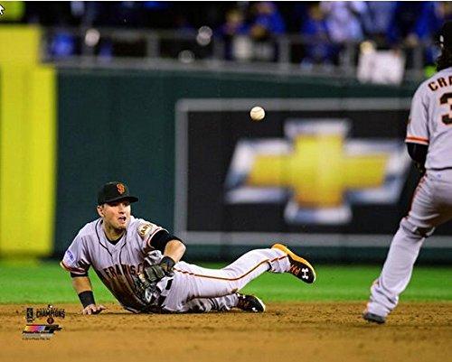 Giants 8x10 Picture - Joe Panik San Francisco Giants Game 7 of the 2014 World Series MLB Action Photo (Size: 8