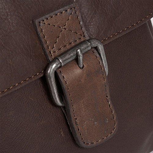 The Chesterfield Brand Victoria Borsa a tracolla pelle 19 cm Brown