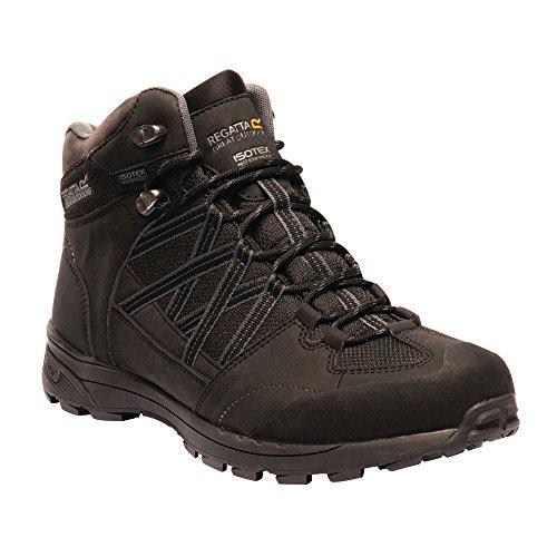 Mid Noir Mens Ii Sealed Boots Regatta black 9v8 Waterproof Samaris Seam Walking granit UaqxTES