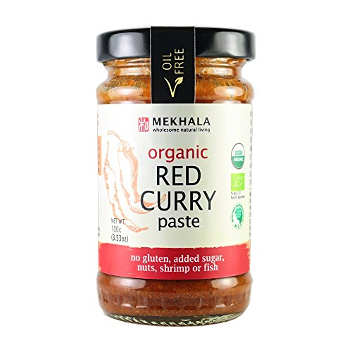 Mekhala Organic Gluten Free Thai Red Curry Paste ()