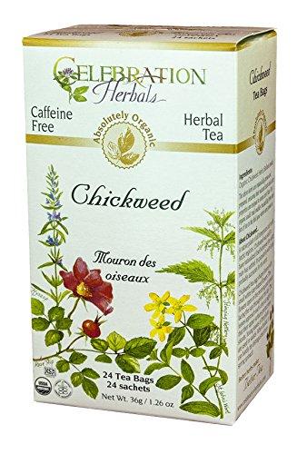 Celebration Herbals Organic Chickweed Caffeine product image