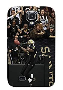 Design High Impact Dirt/shock Proof Case Cover For Galaxy S4 (new Orleans Saints Nfl Football)