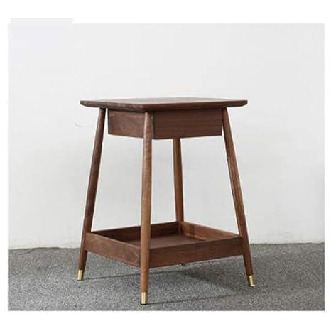 Mesa pequeña simple Mesa auxiliar con cajón Mesa de oficina ...