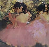 Fine Art 500 Piece Puzzle - Dancers in Pink by Edgar Degas