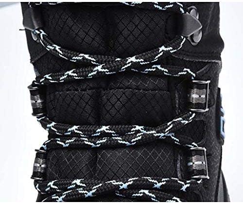 冬のプラスベルベット厚くなったチューブの雪のブーツ防水レザーラウンドヘッドのレースのスタイル暖かい綿のブーツをアッパー (色 : 白い, サイズ : 26.5 CM)