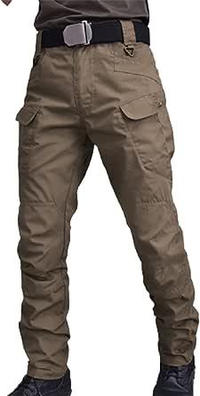 Ix7 - Pantalones transpirables para hombre, diseño de las fuerzas armadas