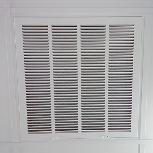 Drop Ceiling Return Air Grilles : Quot return filter grille for drop ceiling easy
