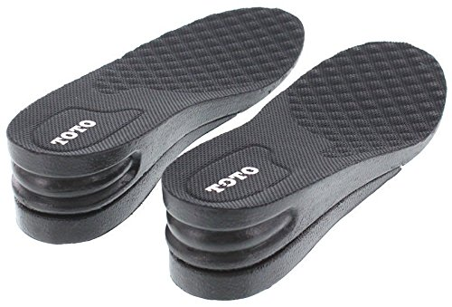 Height Increase Elevator Shoes Insole - Size L - 1 to 1.5 inches Taller by CALDEN (Image #2)