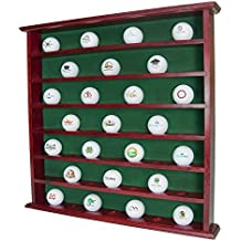 Golf Gift, 49 Golf Ball Display Case Rack Cabinet, NO door, Mahogany, GB20-MA