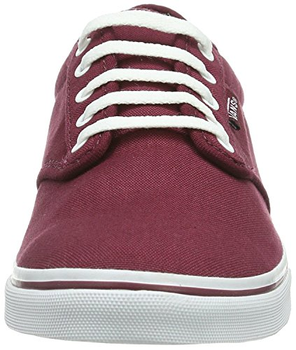 Vans Femmes Atwood Baskets Basses Fashion Bourgogne / Blanc