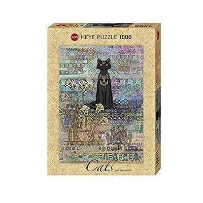 Amix Heye - Heye-29536 - Puzzle Classique - Cats Egyptian - 1000 Pièces