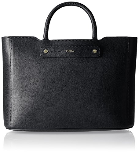 Furla Women's Linda Medium Tote Bag, Onyx, OS
