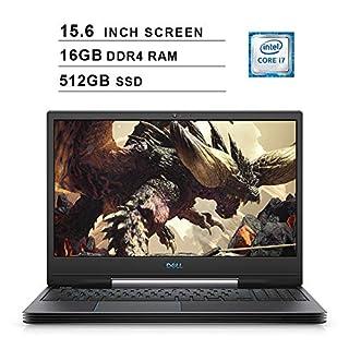 2020 Dell G5 15 5590 15.6 Inch FHD Gaming Laptop (9th Gen Intel 6-Core i7-9750H up to 4.5 GHz, 16GB RAM, 512GB SSD, NVIDIA GeForce RTX 2060, Bluetooth, WiFi, HDMI, Windows 10) (Black)