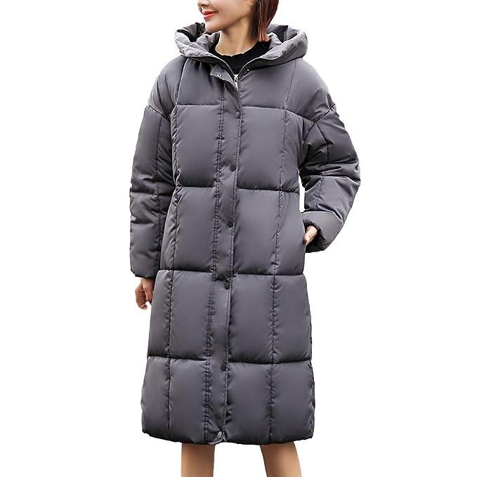 Linlink Promocion chándal Mujeres Invierno Elegantes cálido Grueso Abrigo con Capucha Capa Delgada de algodón Acolchado Chaqueta: Amazon.es: Ropa y ...