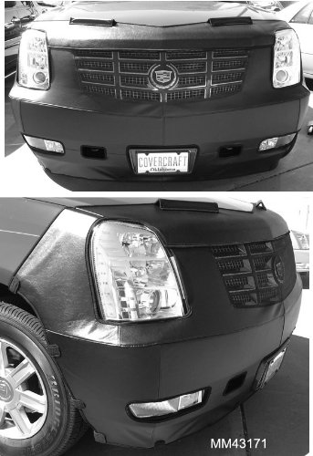 Heavy Duty Front Mask - Covercraft Front End Mask Bra - 2PC System, Fits 2007-2011 CADILLAC ESCALADE, ESV & EXT & Escalade, EXT, ESV (w/Std. Lux trim) 2012
