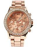 Luxury Alloy Diamond Watch