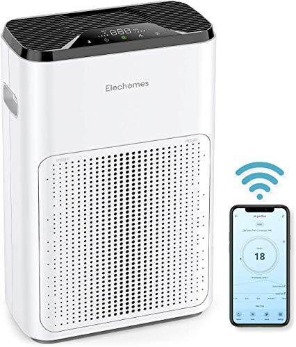 🥇 ELECHOMES WiFi Purificador de Aire
