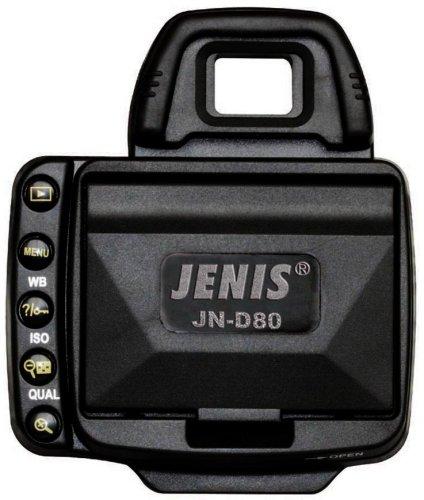 Jenis J-ND80-P-L Professional LCD Hood for Nikon D80 (Black)
