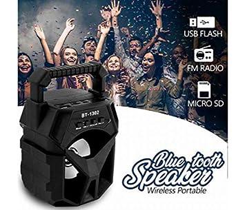 Sound Boss HiFi Mini Portable Bluetooth Speaker  Black  Bluetooth Speakers