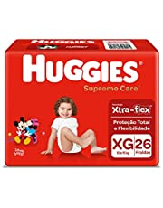 Fralda Huggies Supreme Care Xg - 156 Fraldas, Huggies