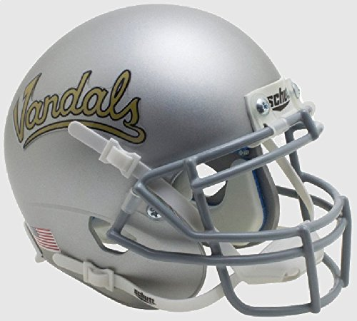 NCAA Idaho Vandals Mini Authentic XP Football Helmet, Silver Vandals Alt. 2, Mini (Idaho Vandals Helmet Replica)