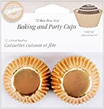 Wilton Gold Foil Bon Bon Baking Cups, Pack of 75