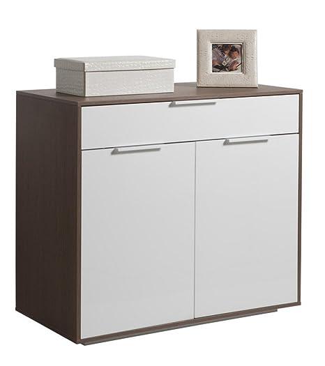 Composad Base mobile dispensa due ante cassetto laccato bianco ...
