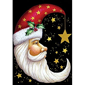 star winter amazoncom toland santa moon decorative christmas celestial