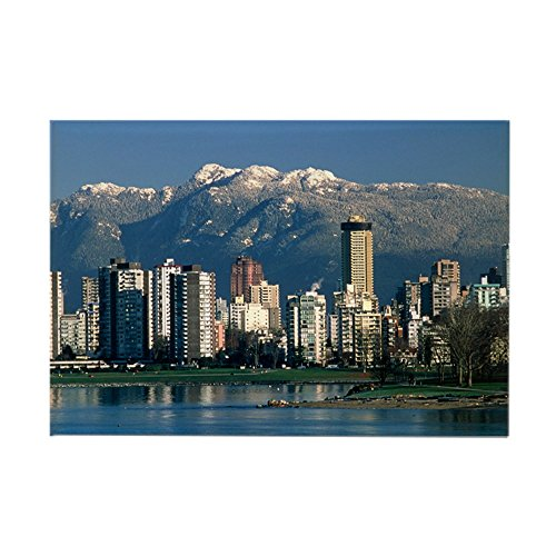 CafePress View of Vancouver, Canada - Rectangle Magnet Rectangle Magnet, 2