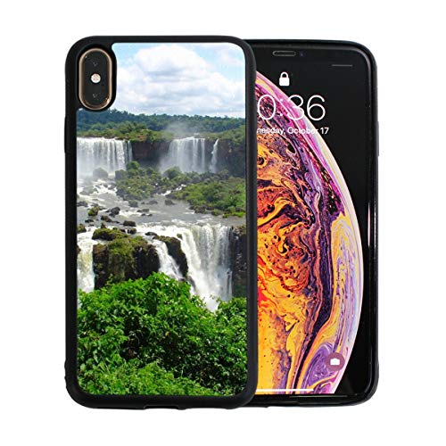 (Tributaries of The Amazon River Apple Phone Xs Max Case Screen Protector TPU Hard Cover with Thin Shockproof Bumper Protective Case for Apple Phone Xs Max 6.5 Inch)