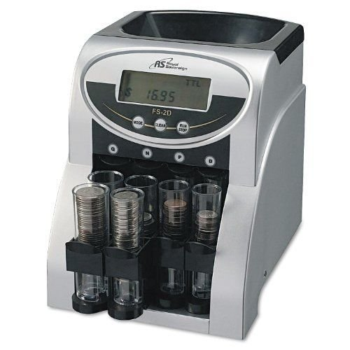Commercial Coin Counter Sorter Machine Fast Sorting Digital LCD Money Change NEW by CS_SHOP
