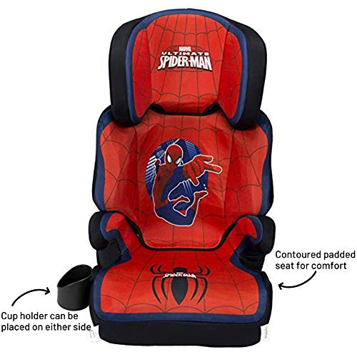 51la9m77olL - KidsEmbrace High-Back Booster Car Seat, Marvel Spider-Man