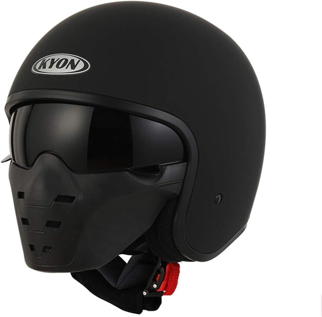 Harley Motocicleta Casco de Cara Abierta Personalidad Máscara ...