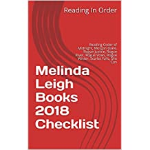 Melinda Leigh Books 2018 Checklist: Reading Order of Midnight, Morgan Dane, Rogue Justice, Rogue River, Rogue Vows, Rogue Winter, Scarlet Falls, She Can, Stand Alone Books and All Melinda Leigh Books