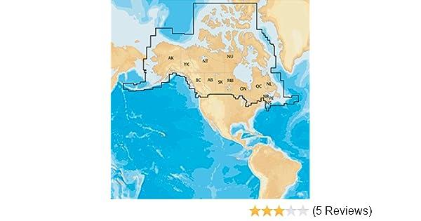 Navionics Plus Regions Canada Marine and Lake Charts on SD/MSD